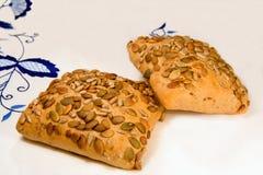 chlebowe zdrowe rolki obraz stock