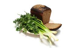 chlebowe zielenie Zdjęcia Stock