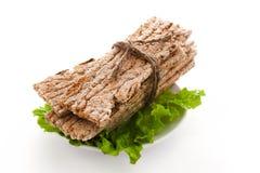 chlebowego łasowania zdrowy żyto Fotografia Stock