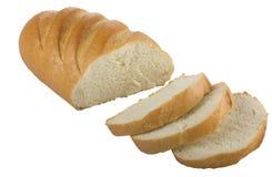 chlebowego bochenka długi pokrojony Obrazy Royalty Free