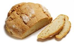 chlebowego bochenka pokrojony biel Fotografia Stock