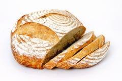 chlebowego bochenka pokrojony sourdough Obraz Royalty Free