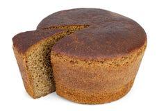 chlebowego rżniętego bochenka kawałka rżnięty żyto Zdjęcia Royalty Free