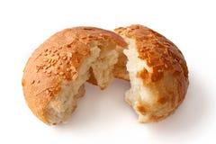 chlebowego robienie kanapki Zdjęcie Stock