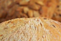 chlebowego zbliżenia makro- kawałek Fotografia Royalty Free