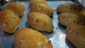 Chlebowej piekarni karmowa fabryczna produkcja zbiory