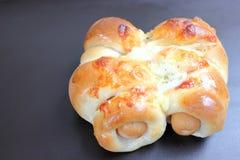 chlebowej rolki kiełbasa Obraz Stock