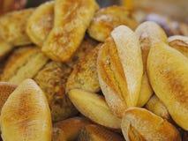Chlebowej rolki kosz Zdjęcie Stock