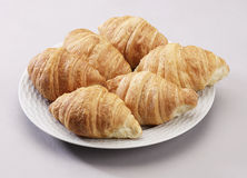 chlebowi croissants Zdjęcia Royalty Free
