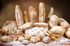 Chlebowi i piec towary Obraz Stock