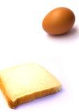 chlebowi jajka Fotografia Stock