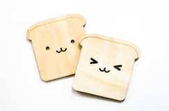 Chlebowi kabotażowowie odizolowywający na białym tle obraz royalty free