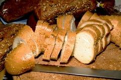 chlebowi kawałki Fotografia Stock