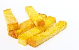 Chlebowi kije i cukier Zdjęcia Stock