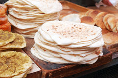chlebowi lavashes Obraz Stock