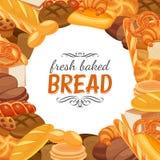 Chlebowi produkty Fotografia Stock