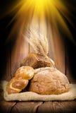 chlebowi promienie obraz royalty free