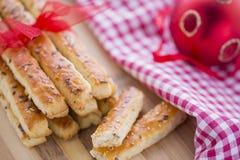 Chlebowi Słoni kije z sezamu i lna ziarnami Zdjęcie Royalty Free