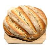 chlebowi świezi domowej roboty makowi ziarna Fotografia Stock