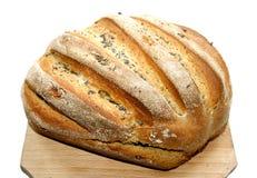 chlebowi świezi domowej roboty makowi ziarna Zdjęcia Stock