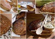Chlebowi wizerunki Zdjęcia Royalty Free