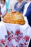 chlebowy ślub Fotografia Royalty Free