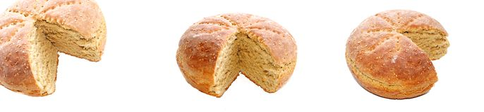 chlebowy świeży zdrowy domowej roboty Fotografia Stock