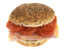 chlebowy baleronu rolki pomidor Obraz Royalty Free