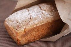 Chlebowy bochenek robić kukurydzana mąka Obraz Royalty Free