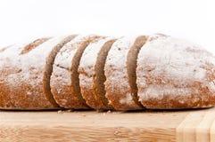 chlebowy brąz pokrajać Fotografia Royalty Free
