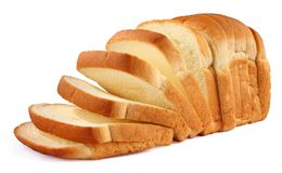 chlebowy cięcie Fotografia Royalty Free