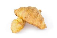 Chlebowy Croissant śniadanie Zdjęcia Stock
