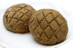 chlebowy czekoladowy round obraz stock