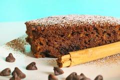 chlebowy czekoladowy zucchini Obrazy Royalty Free