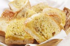 chlebowy czosnek Fotografia Royalty Free