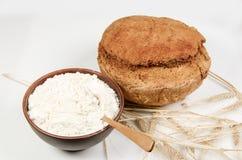 chlebowy domowej roboty bochenek zdjęcie royalty free