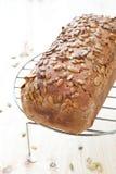 chlebowy domowy robić żyto Zdjęcie Stock