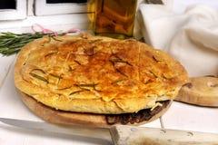 chlebowy focaccia Zdjęcie Royalty Free