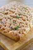 chlebowy foccacia Zdjęcie Royalty Free