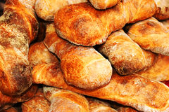 chlebowy francuski biel Fotografia Royalty Free