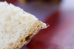 chlebowy francuski macro Zdjęcia Stock