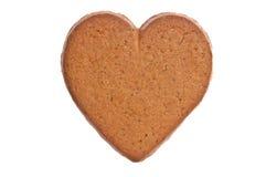 chlebowy imbirowy serce Obraz Royalty Free