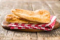 chlebowy indyjski naan fotografia stock