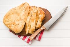 chlebowy indyjski naan zdjęcie royalty free