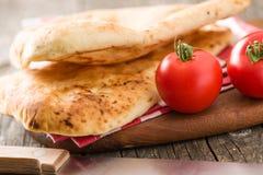 chlebowy indyjski naan obrazy stock