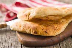 chlebowy indyjski naan fotografia royalty free