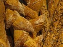 Chlebowy jedzenie na pokazie dla sprzedaży Zdjęcie Stock