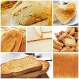 Chlebowy kolaż fotografia royalty free