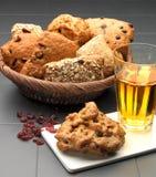 Chlebowy kosz Zdjęcia Stock