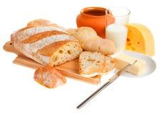 chlebowy masła noża kawałek zdjęcia royalty free